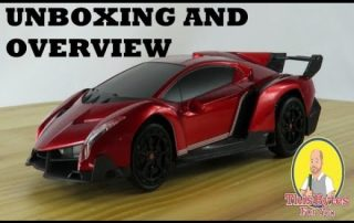 Unboxing and overview of the Qun Feng Lamborghini Veneno RC Licensed Car