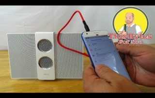 How to connect the BenQ treVolo S Portable  Bluetooth Electrostatic Speaker