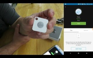 Tile Mate Key Finder unboxing, overview and product use
