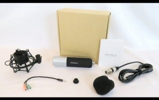Unboxing & overview of the SOONHUA Professional Condenser Microphone Kit With Stand Shock Mount