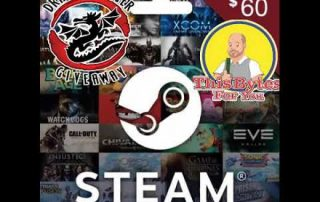 Enter to Win a $60 Steam Gift Card – February 2018