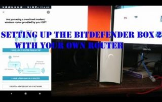How to setup the Bitdefender Box 2 with your own router