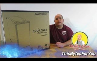 Unboxing and overview of the Enermax Equilence Desktop Case @Enermax