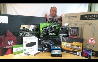 Getting ready to Build The Boss Build Gaming PC