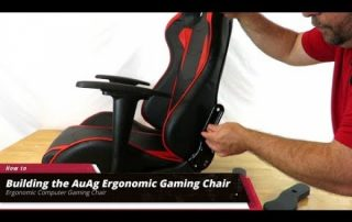 Building the AuAg Ergonomic Gaming Chair and Use