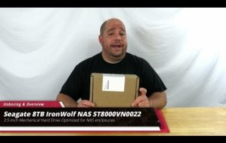 Unboxing and Overview of the Seagate 8TB IronWolf NAS Hard Drive ST8000VN0022