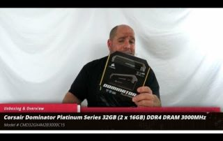 Unboxing & Overview of Corsair Dominator Platinum Series 32GB DDR4 3000MHz RAM