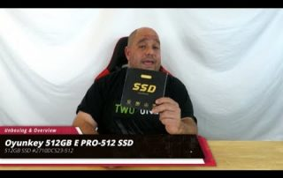 Unboxing & Overview Oyunkey 512GB E PRO-512 SSD