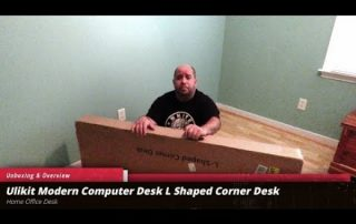 Unboxing & Overview of the Ulikit L Shaped Corner Desk