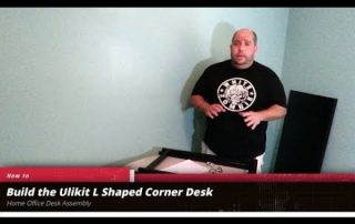 How to assemble the Ulikit L Shaped Corner Desk