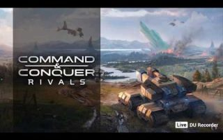 Live streaming Command & Conquer Rivals