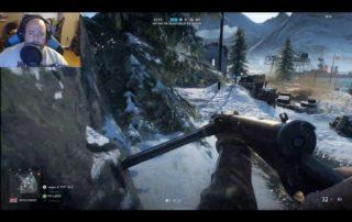 Live streaming Battlefield V Open Beta