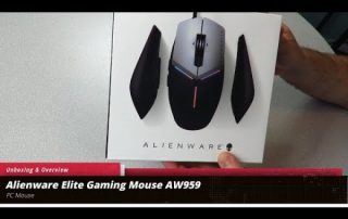Unboxing and Overview of the Alienware Elite Gaming Mouse AW959