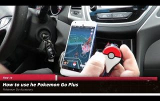 Using the Pokemon Go Plus
