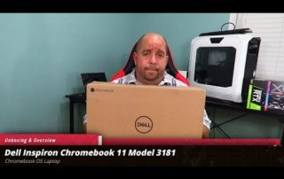 Unboxing and Overview of the Dell Inspiron ChromeBook 11 3181