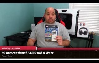 Unboxing and overview of the P3 International P4400 Kill A Watt