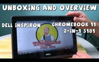 Dell Inspiron Chromebook 11 3181 2-in-1 Unboxing and Overview