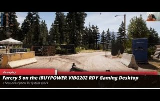 FarCry5 gameplay on iBUYPOWER Gaming RDY VIBG202 Gaming Desktop