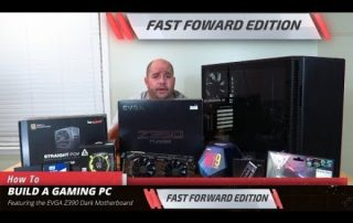 FastForward: How to build a Gaming PC with the EVGA Z390 Dark in the Darkest Light Build
