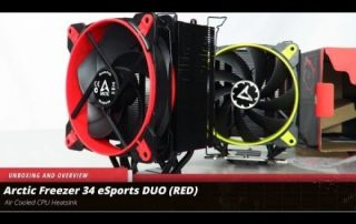 Arctic Freezer 34 DUO Unboxing, Overview and Comparison