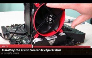 Installing the Arctic Freezer 34 eSports DUO