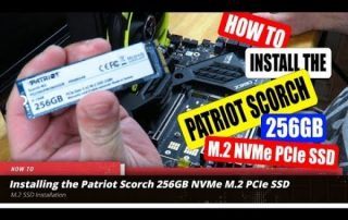 How to Install the Patriot Scorch 256GB NVMe M.2 SSD