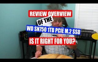 Review overview of the WD Black SN750 1TB NVMe PCIe M.2 SSD WDS100T3X0C