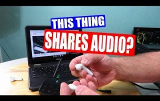Unboxing and using the TaoTronics Long Range Bluetooth 5.0 Transmitter Receiver