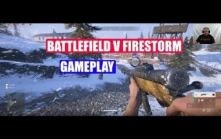 Battlefield V Firestorm Gameplay on the EVGA Geforce RTX2080 XC Ultra Gaming