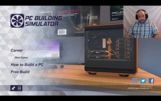 Playing PC Building Simulator (Career Mode)