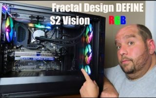 RGB Lighting on the Fractal Design DEFINE S2 Vision RGB