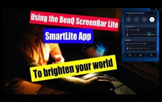 Using the BenQ ScreenBar SmartLite App