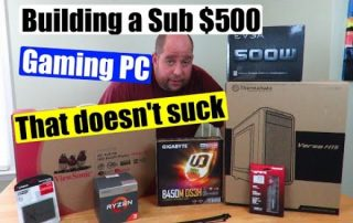 Building an Extreme Budget PC that doesn't suck