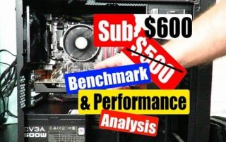Extreme Budget PC Benchmark and Performance Analysis