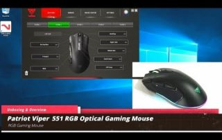 Unboxing and Using the Patriot Viper 551 Optical RGB Gaming Mouse