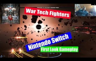 War Tech Fighters Playing and First Look on the Nintendo Switch