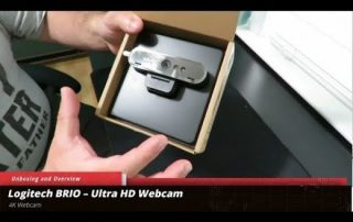 Logitech BRIO ULTRA HD WEBCAM Unboxing and Overview
