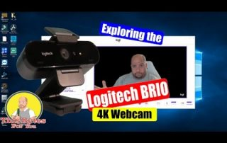 Logitech BRIO Ultra HD Pro Webcam in game recording and more