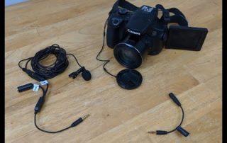 Canon SX60 HS Microphone VS Movo Professional Lavalier Lapel Clip