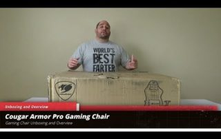 Cougar Armor Pro Gaming Unboxing and overview