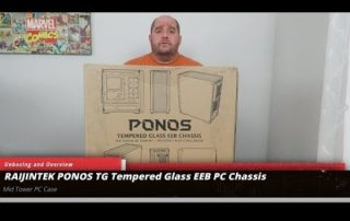 Raijintek Ponos PC Case Unboxing and Overview