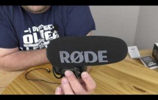 Rode VideoMic Pro+ Unboxing and Product Use
