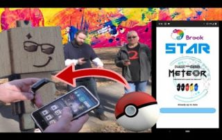 Pairing and Using the Pocket Auto Catch Meteor Step By Step – For Pokemon Go