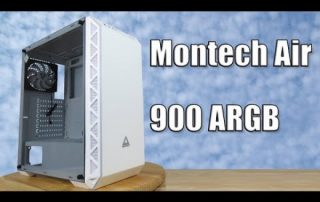 Montech Air 900 ARGB | White Midtower PC Chassis