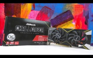 ASRock Challenger D Radeon RX 5500 XT Graphics Card Unboxing | Raise the Game