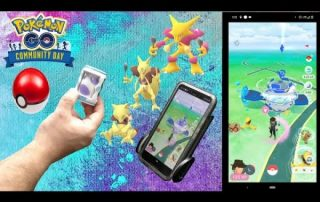 Pairing and using the new Catchmon Go in Pokemon Go during a Community Day
