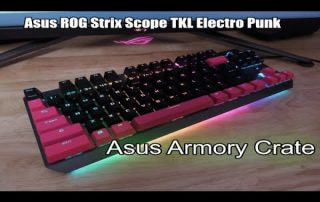 Using the Asus Armory Crate – Asus ROG STRIX Scope TKL Electro Punk Keyboard