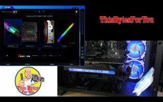 How to control RGB on EVGA Geforce RTX 3090 FTW3 Ultra Gaming – RTX 3090