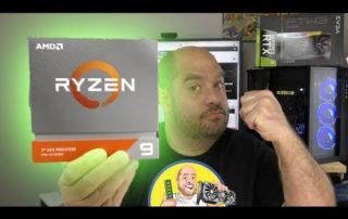 AMD Ryzen 9 3900XT Unboxing