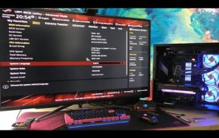Flashing BIOS and Installing Windows 10 – Asus ROG Crosshair VIII Hero Motherboard